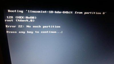 Запуск linux с флешки без установки